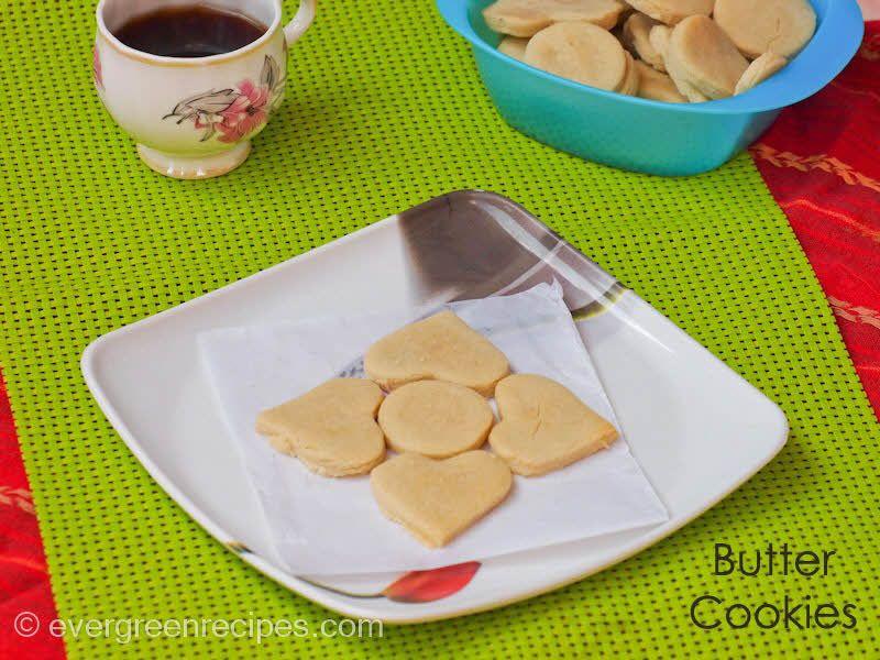 Homemade Butter Cookies : Evergreen Recipes