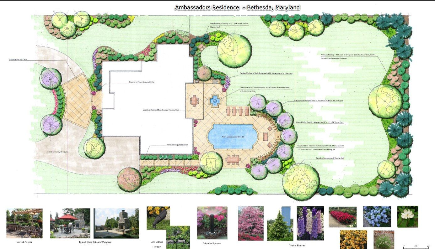 How To Design A Garden Layout Image Extraordinary Design Review