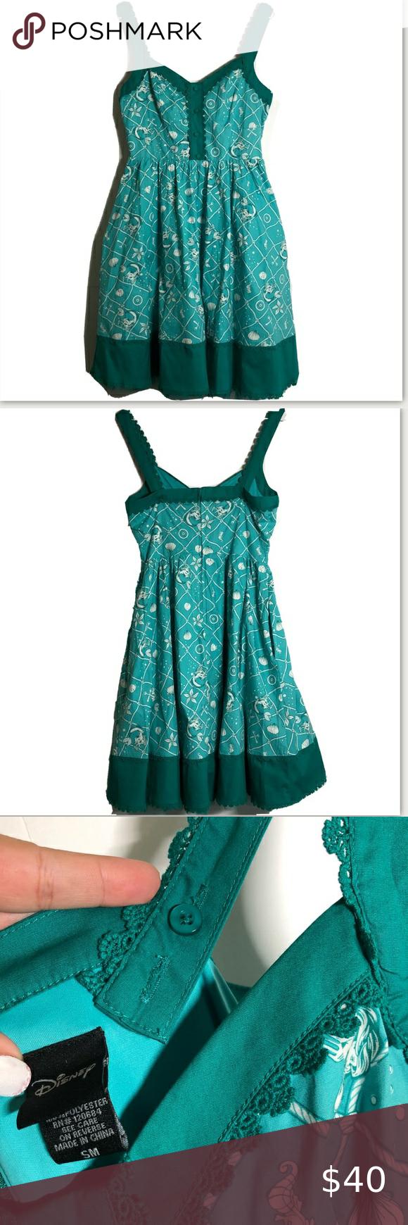 Disney Little Mermaid inspired princess dress Disney Little Mermaid inspired pri…