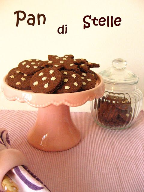 """Le Ricette del Bosco Fatato: Pan di Stelle versione """"natalizia"""""""