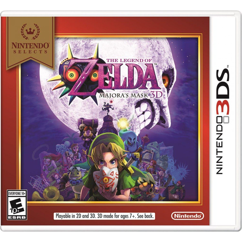 The Legend Of Zelda Majora S Mask 3d Nintendo Selects Legend