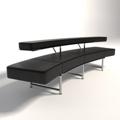 Eileen Gray Möbel eileen gray monte carlo 3d model 3d model 3d modeling
