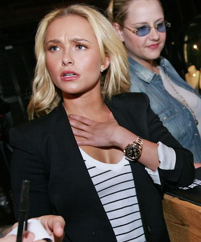 Sexy female celebrities and their rolex watches for Woman celebrity watches