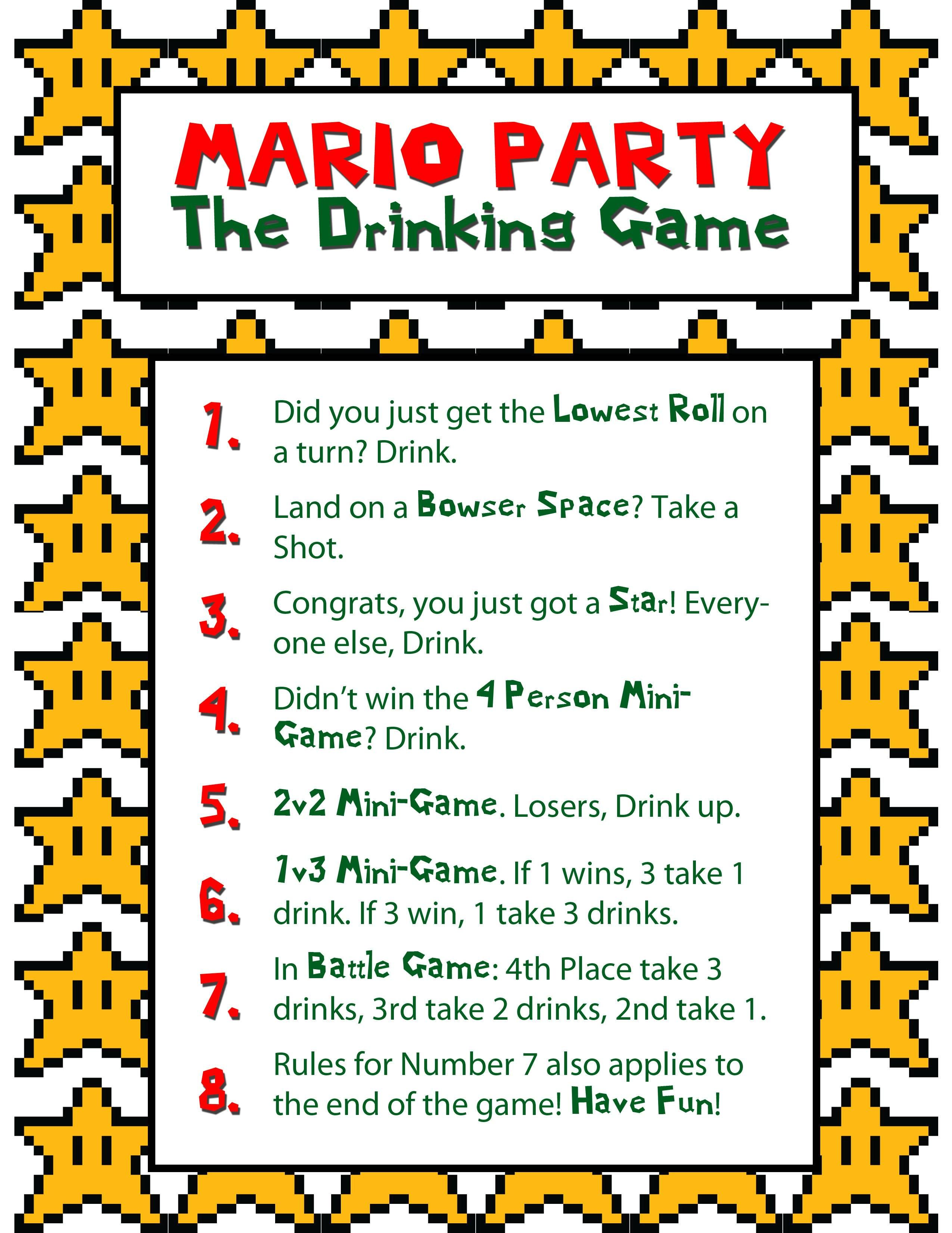 For my cake day, I present my favorite drinking game (OC ...