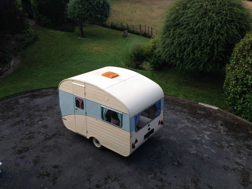 Fisher Holivan 3 Berth Caravan - Vintage Retro Rare ...