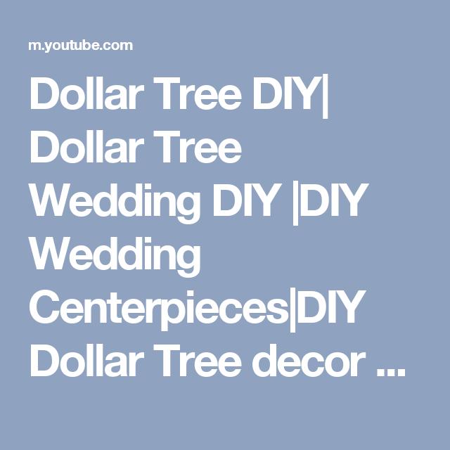 Dollar tree diy dollar tree wedding diy diy wedding centerpieces dollar tree diy dollar tree wedding diy diy wedding centerpiecesdiy dollar tree junglespirit Choice Image