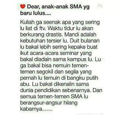 Dear Anak Sma Sma Lucu