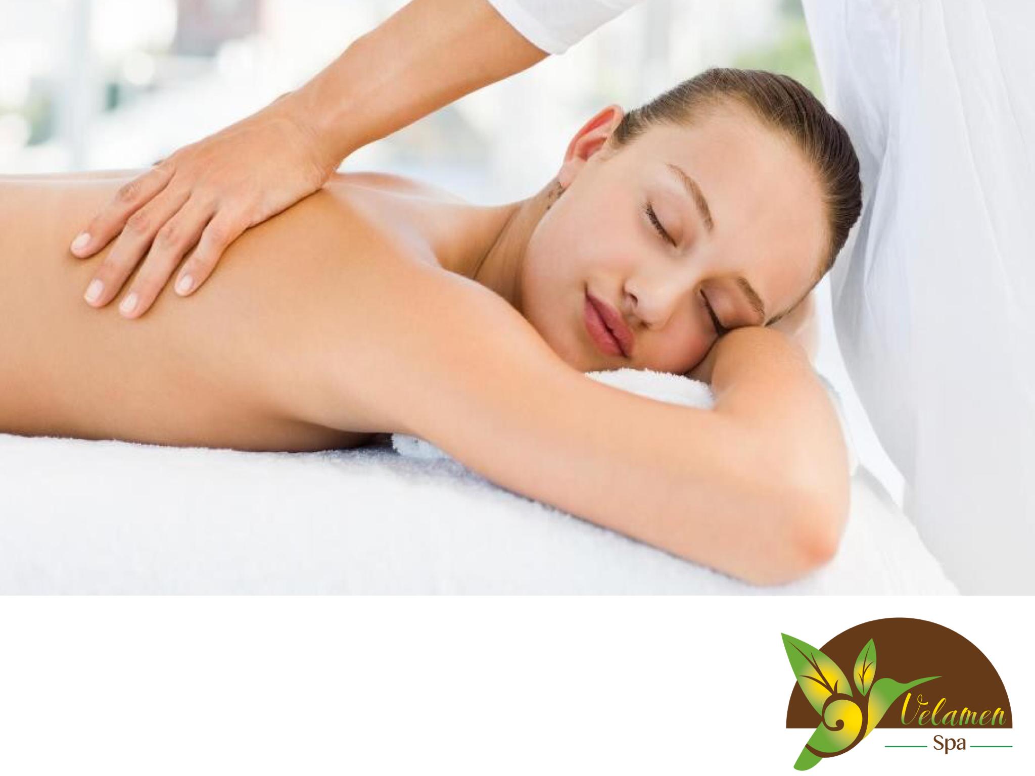 EL MEJOR SPA Con el masaje holístico que realizamos en Velamen SPA, llevamos a cabo una alineación postular en cama basada en manipulaciones y movimientos en los que se conjuntan varias técnicas como tailandés, cráneosacro, quiromasaje, y masaje relajante obteniendo los beneficios de un cuerpo más ligero y flexible, eliminando además  la tensión muscular y permitiendo la respiración profunda.Te invitamos a solicitar una cita comunicándote al 5562-6264 o por Whatsapp al 044(55)74166796