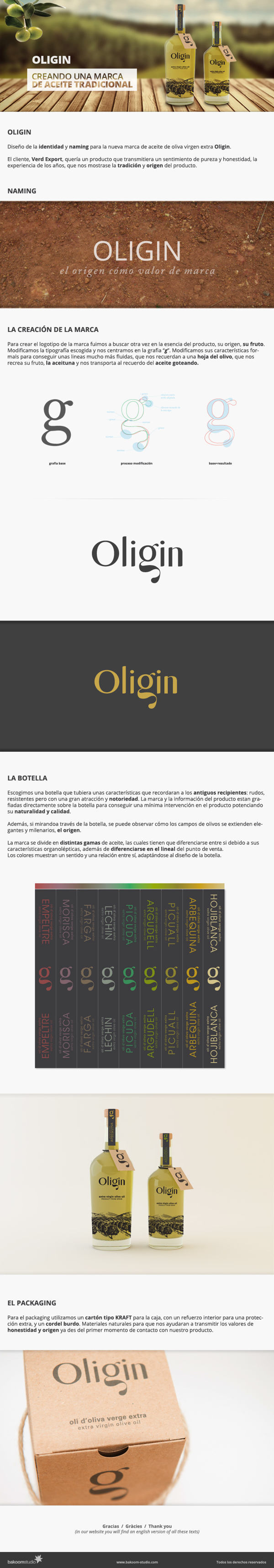 Oligin by Bakoom Studio , via Behance
