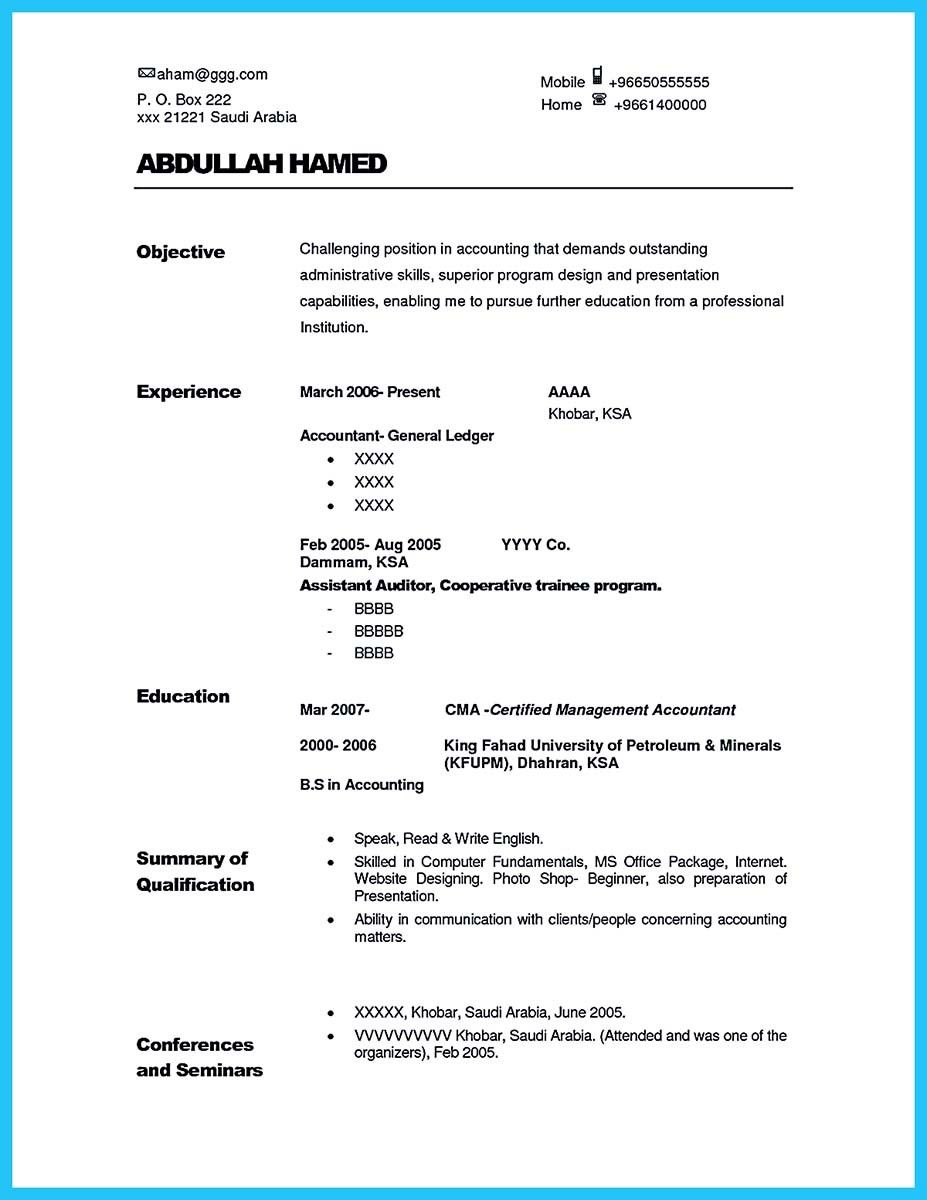 Nice Making A Concise Credential Audit Resume  Resume Template
