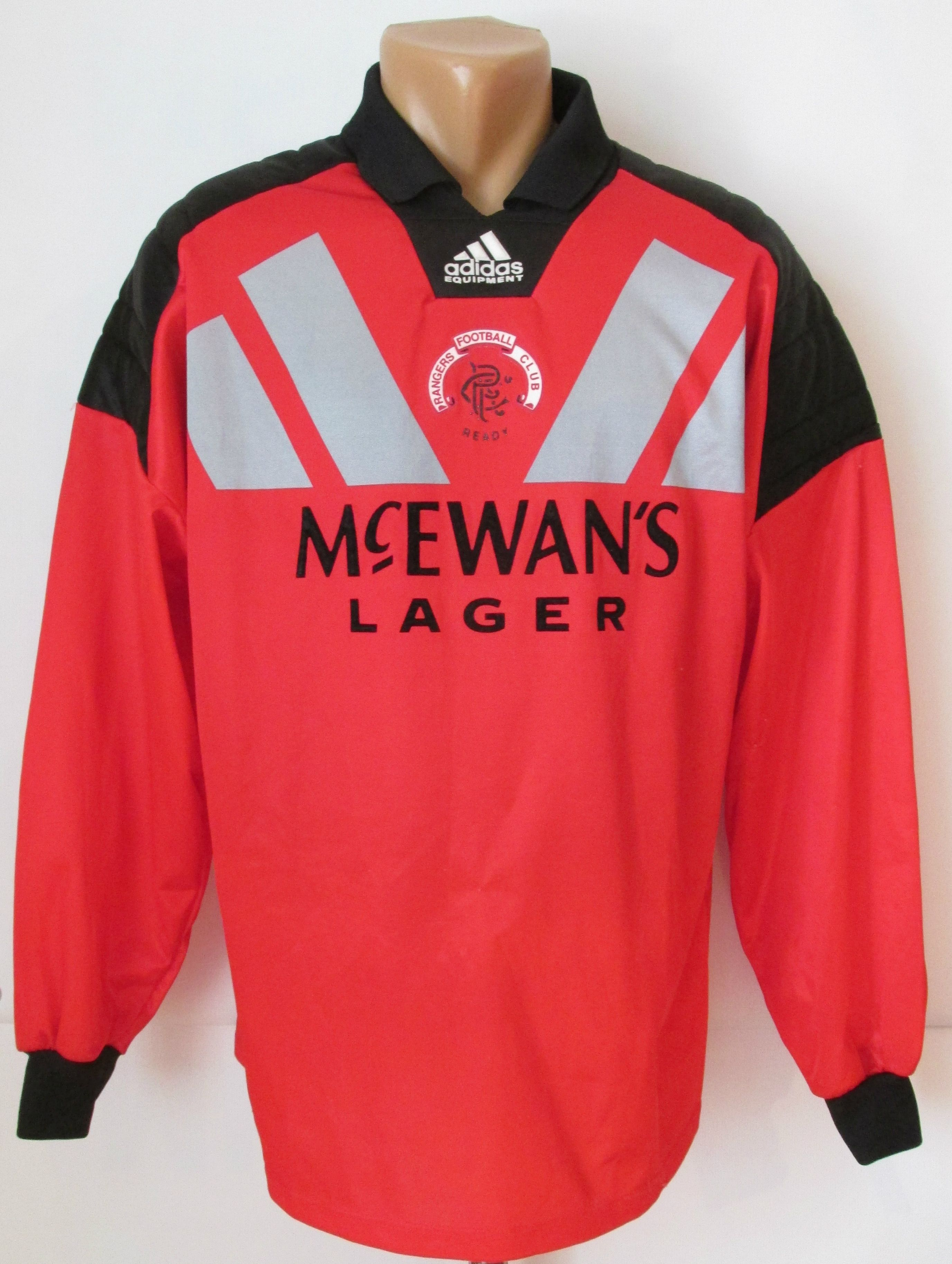 3afee17d0 Rangers Glasgow 1992 1993 1994 goalkeeper football shirt by Adidas RFC Gers  Scotland vintage 90s retro soccer jersey  Rangers  glasgow  adidas  vintage   90s ...