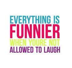 A Laugh is a Smile that Bursts