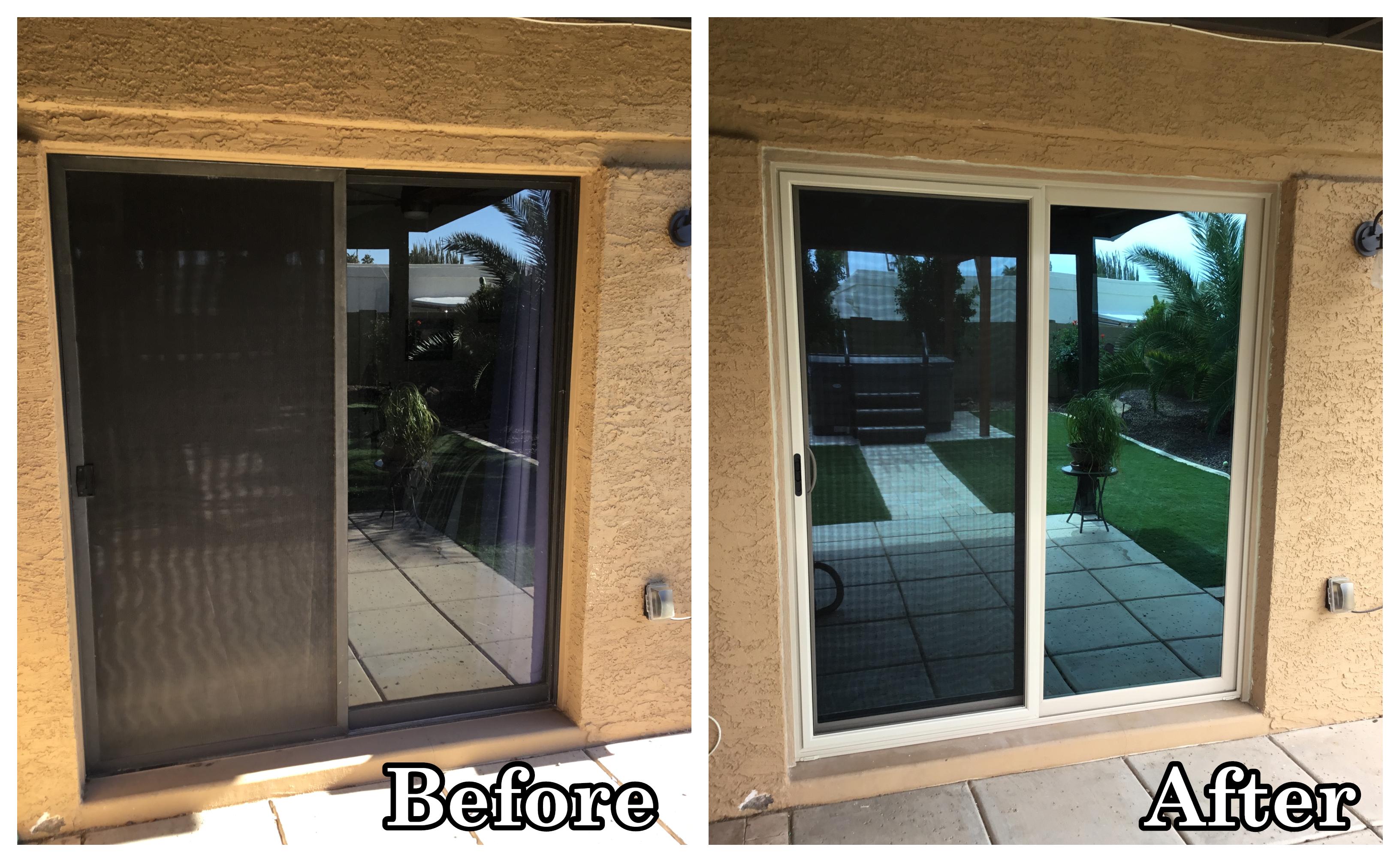 New Stylish Energy Efficient Patio Door In 2020 Patio Doors Vinyl Replacement Windows House Windows