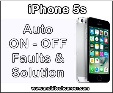 Apple iPhone 5s Auto ON-OFF Problems - How to fix it ? http://ift.tt/2yiiVfV