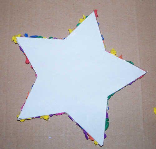 Sterne basteln mit den Allerkleinsten