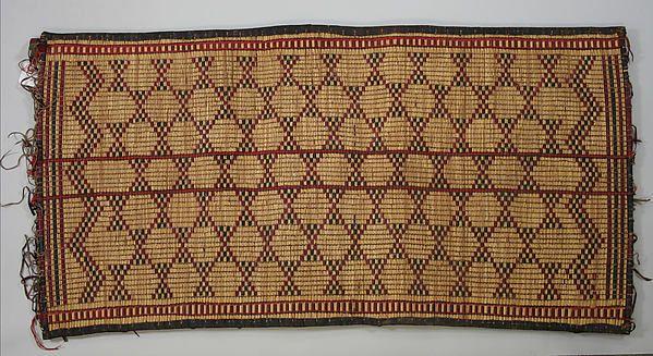 Africa | Tent Mat (Assaber or Chetek) | Tuareg peoples | The Met