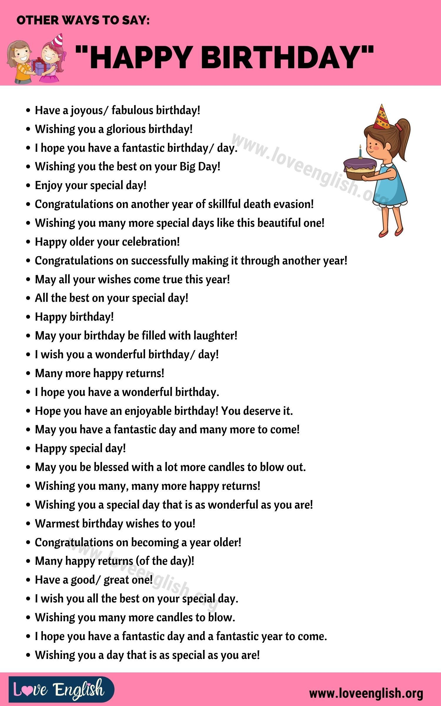 Birthday Wishes 35 Funny Ways To Say Happy Birthday In English Love English Friend Birthday Quotes Birthday Quotes Funny Happy Birthday Quotes For Friends