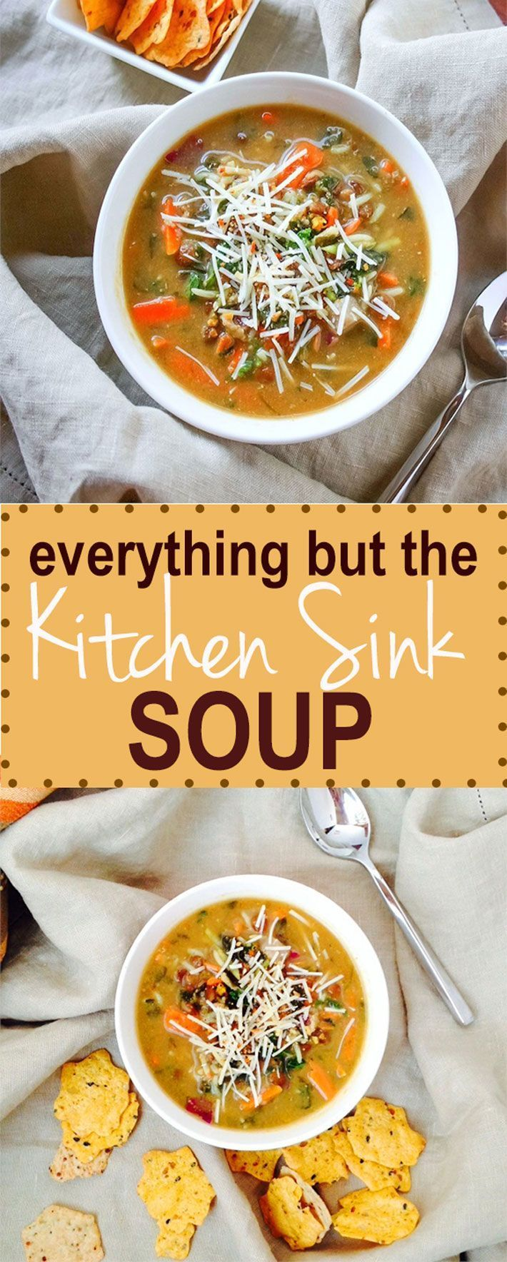 Everything But the Kitchen Sink Soup {Gluten Free ...