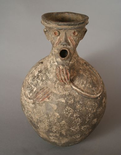 African Ceramic And Stone : Africa vessel mambila cameroon clay and pigments