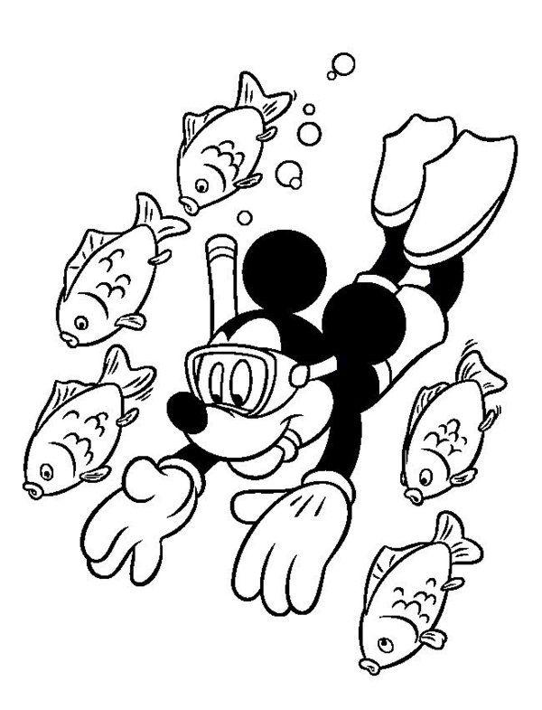 Holiday Coloring Pages To Print Dengan Gambar Clip Art Disney