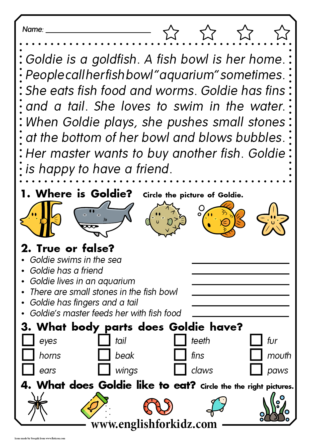 Reading comprehension activities   Reading comprehension worksheets [ 1754 x 1240 Pixel ]