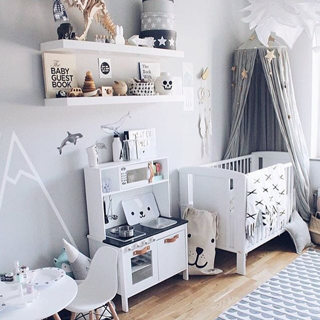 Very Cool Nursery By Erika Bader Small Baby Room Baby Boy Room Nursery Boy Room Themes