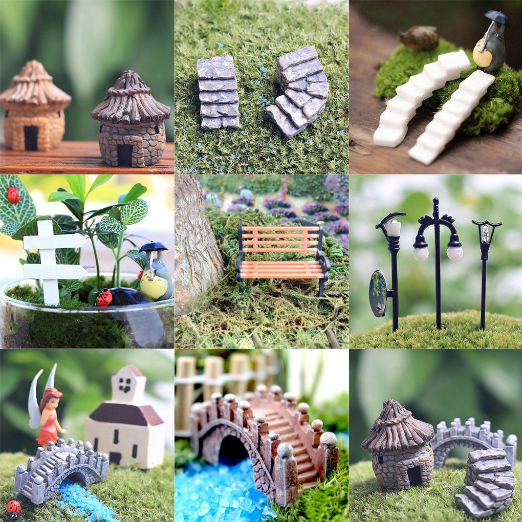 $1.0 AUD - Figurine Craft Plant Pot Garden Ornament Miniature Fairy ...