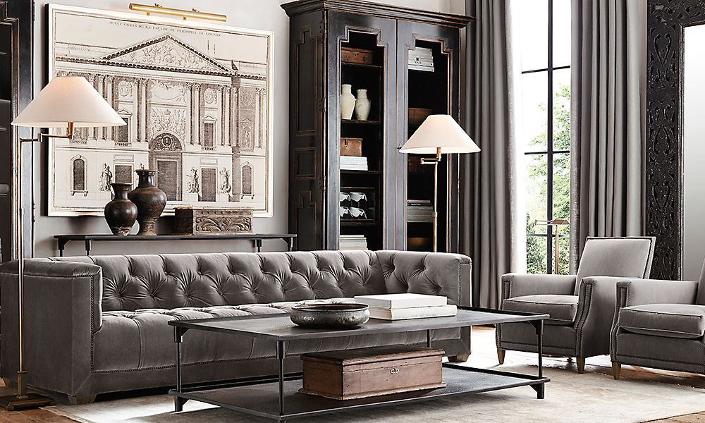 Restoration Hardware Style Sofa Interior Style Aviation Furniture Restoration Hardware Thesofa