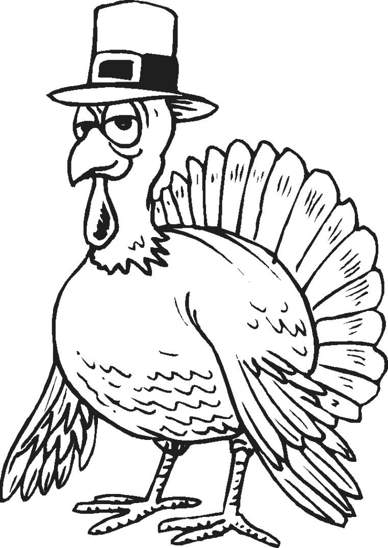 Thanksgiving Turkey Coloring Pages Fresh Coloring Ideas Simple
