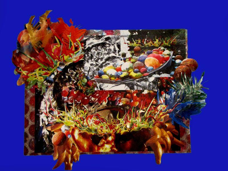 """ORION"""" Collage - Técnica mixta - Fotos impresas en papeles ..."""