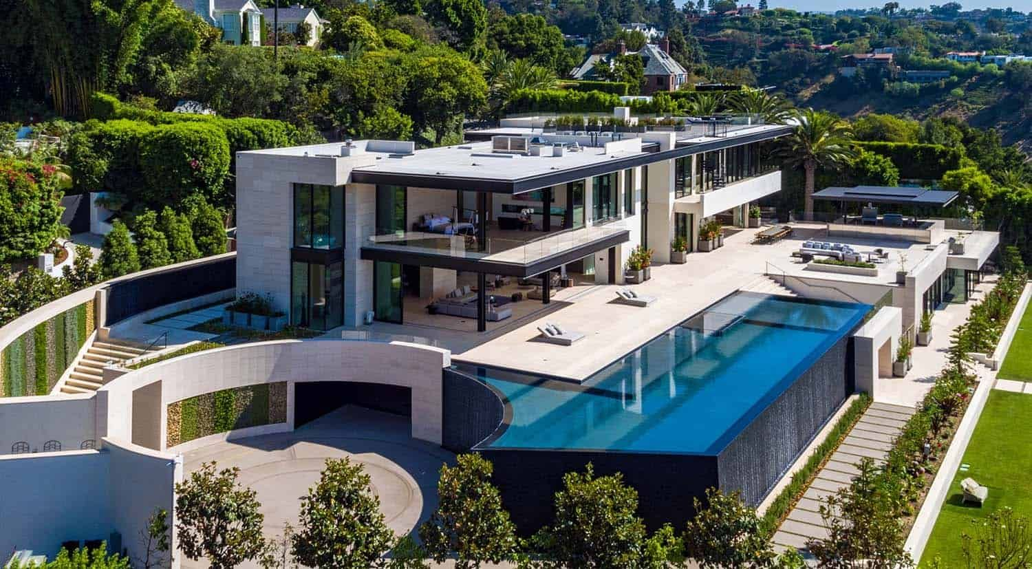 Jaw Dropping Dream Home Overlooking The Los Angeles Skyline Luxury Homes Dream Houses Dream Home Design Dream House Exterior