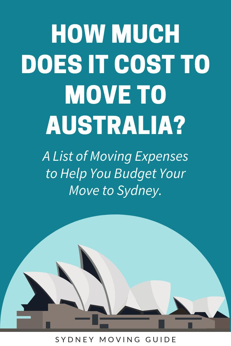 How Much Does It Cost to Move to Australia? Sydney