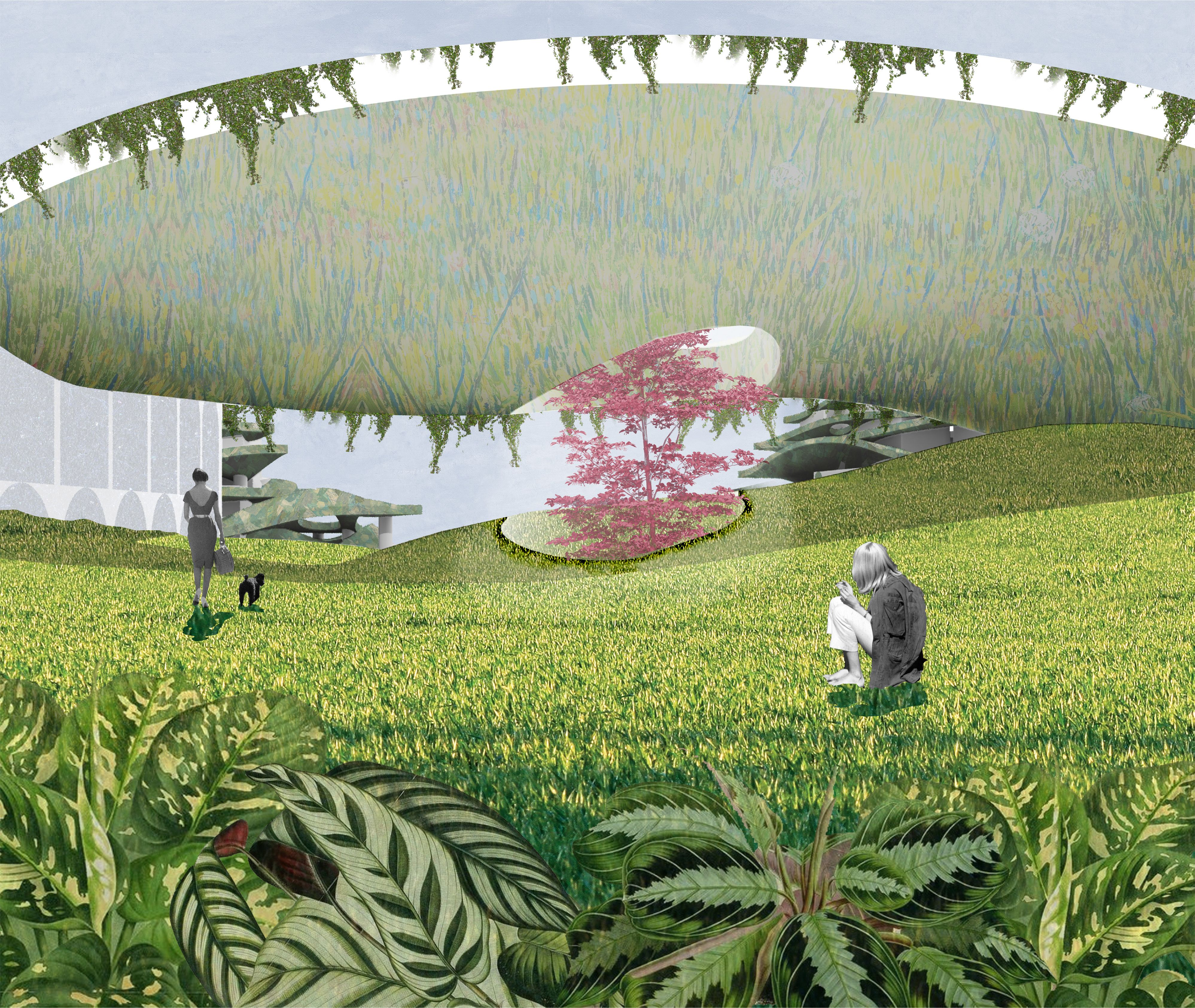 View Of Archipelago Landscape Architecture Design Illustration