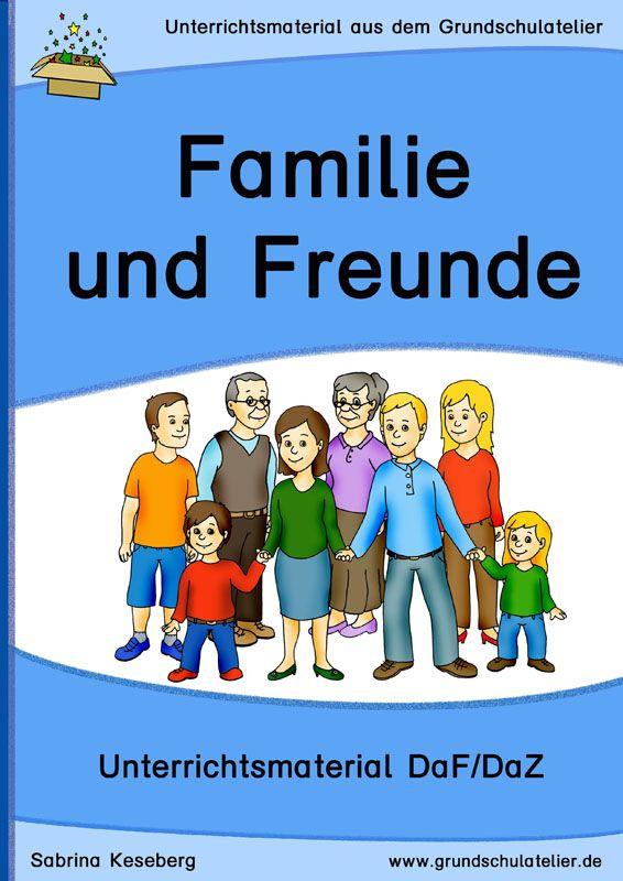 DaF/DaZ: Familie und Freunde | Bildung | Pinterest ...