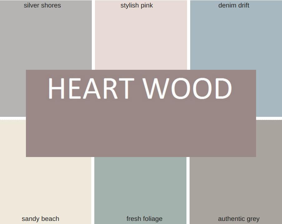 Kleur van het jaar 2018 heart wood muurverf pinterest for Interieur kleuren 2018