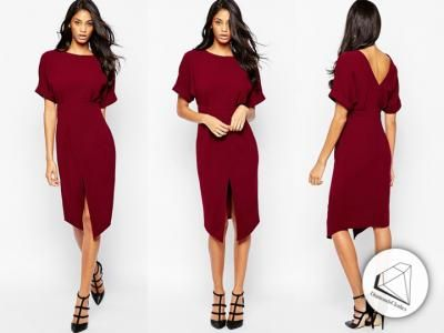 U08064 Asos Sukienka Olowkowa V Back 36 5873753501 Oficjalne Archiwum Allegro Dresses Fashion Jumpsuit