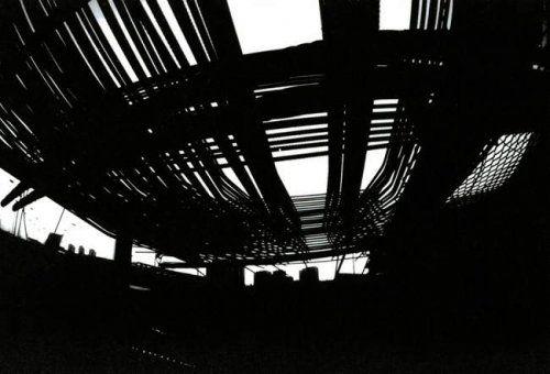 #JeanClaudeGautrand - Périphérique - Métalopolis 1 -#GalerieW #Photographe #NoirEtBlanc