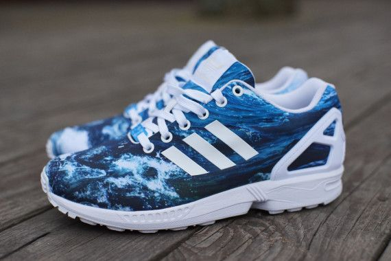 Adidas Zx Flux Lightning Blue