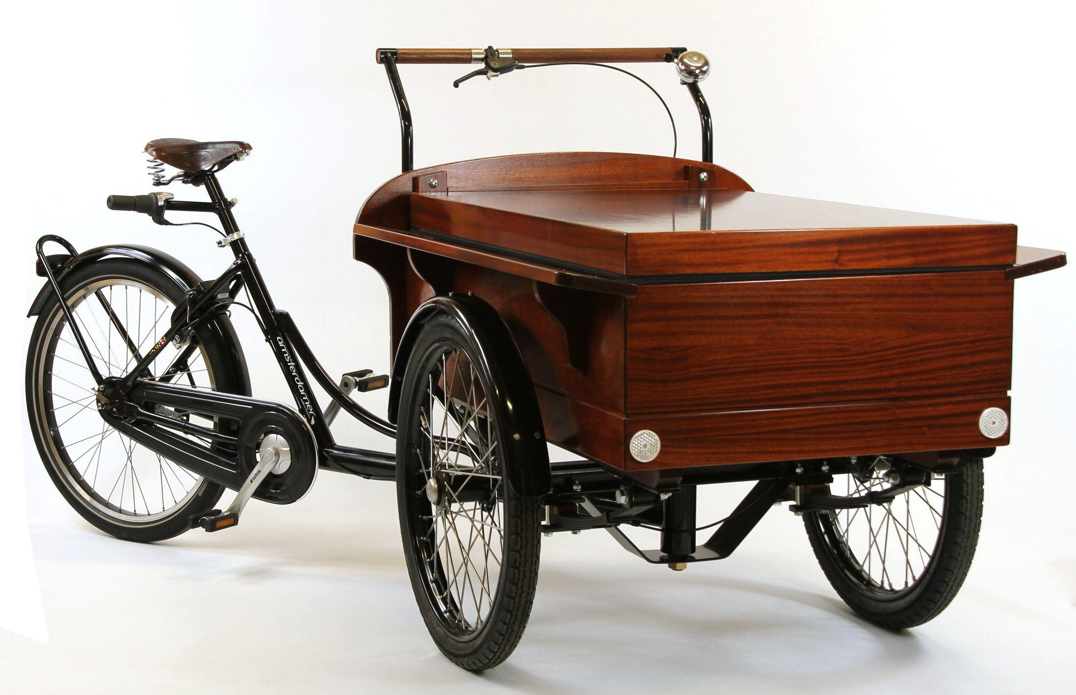 triporteur vente ambulante hollandais assistance. Black Bedroom Furniture Sets. Home Design Ideas