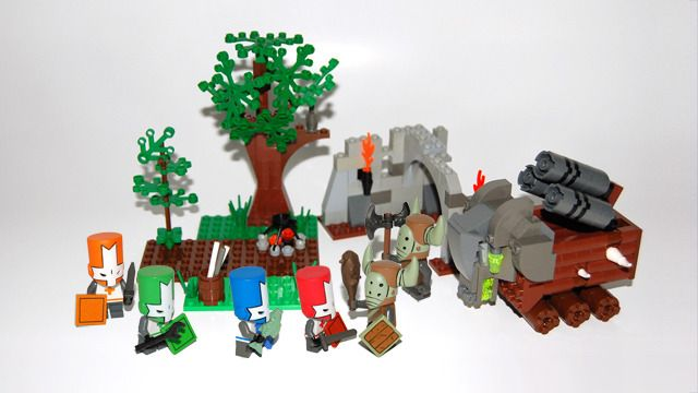 Castle Crasher Lego Set Castle Crashers Lego Castle Legos