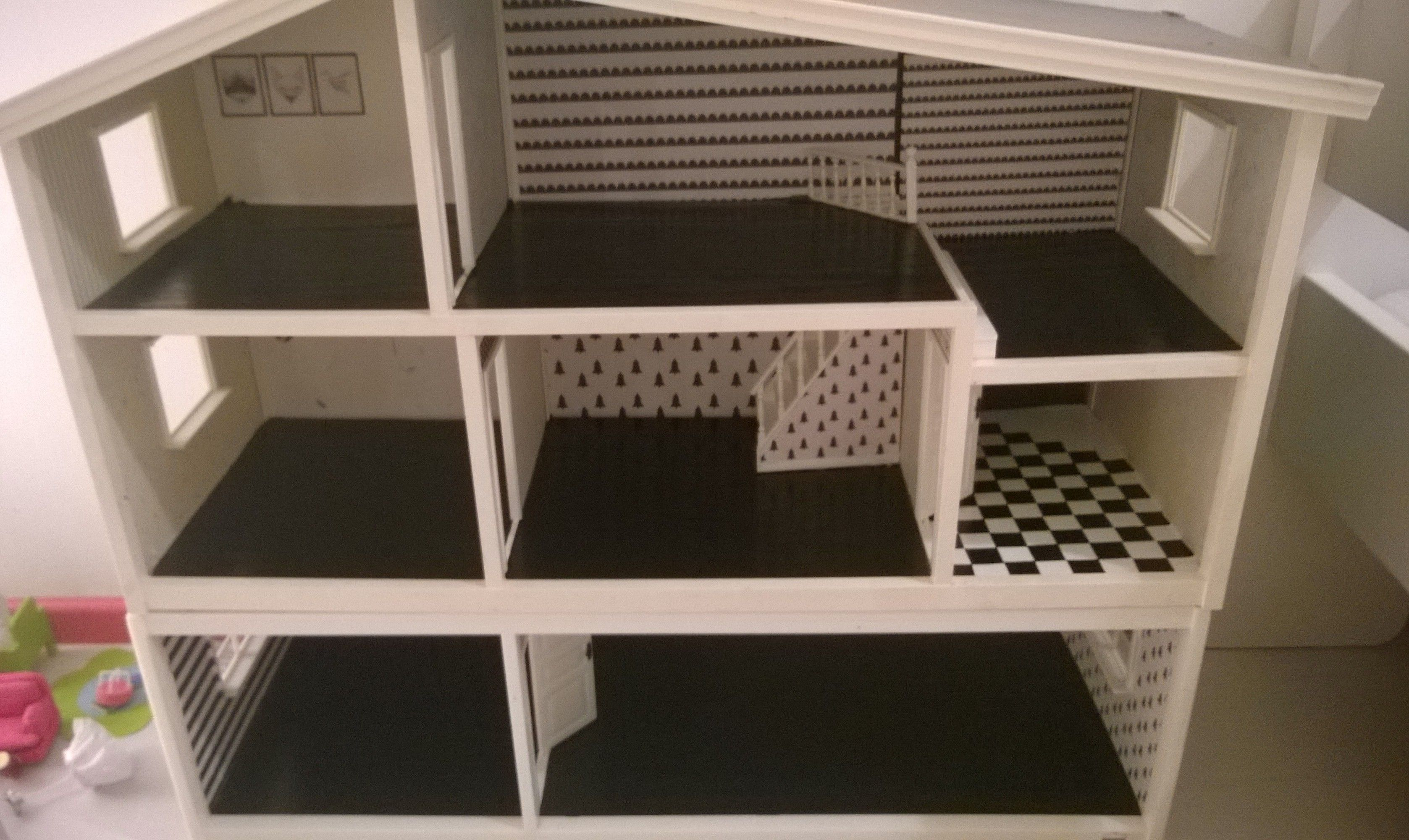 Lundby doll house makeover