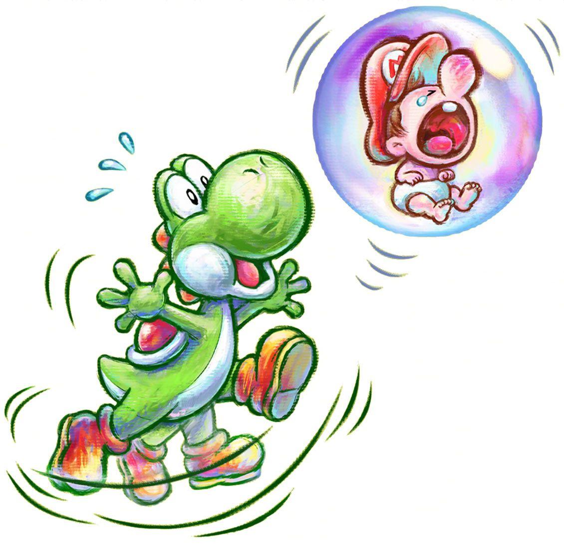 Super mario characters yoshi