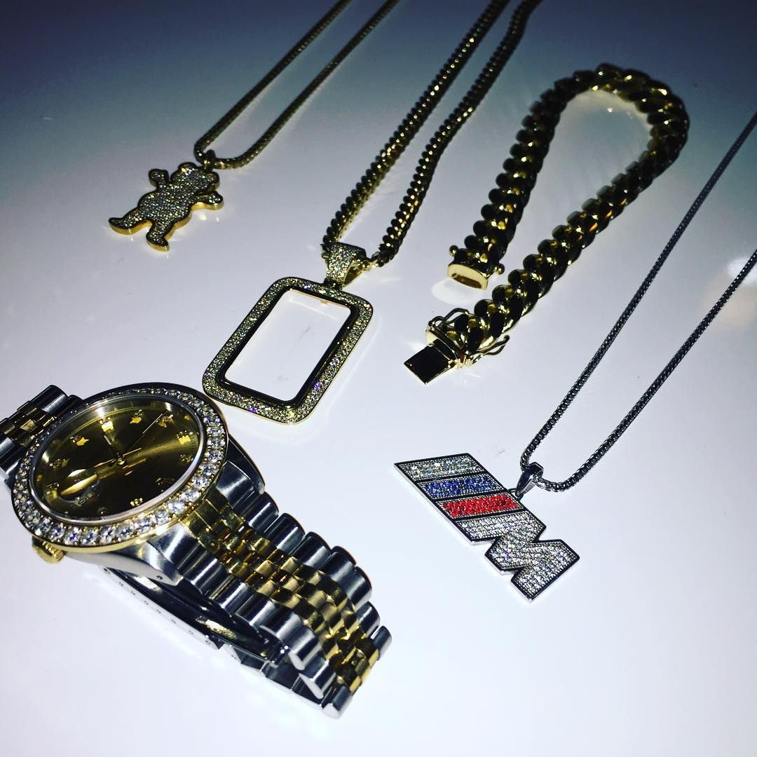 Iced out rolex custom diamond m4 pendant diamond miami cuban link iced out rolex custom diamond m4 pendant diamond miami cuban link bracelet custom aloadofball Image collections