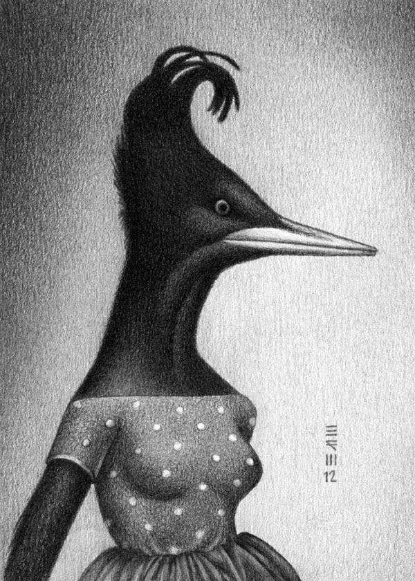 Imperial Woodpecker, 1956. Art credit: Brian R. Williams.