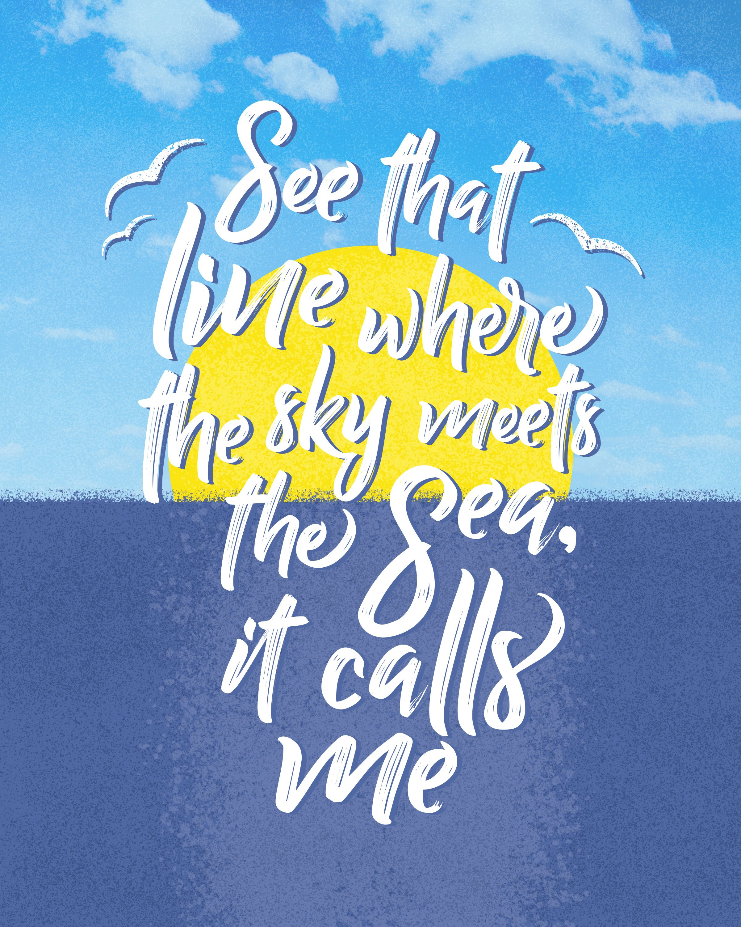 Disney One Liner Quotes: Moana / Quote / Disney / How Far I'll Go / Inspirational