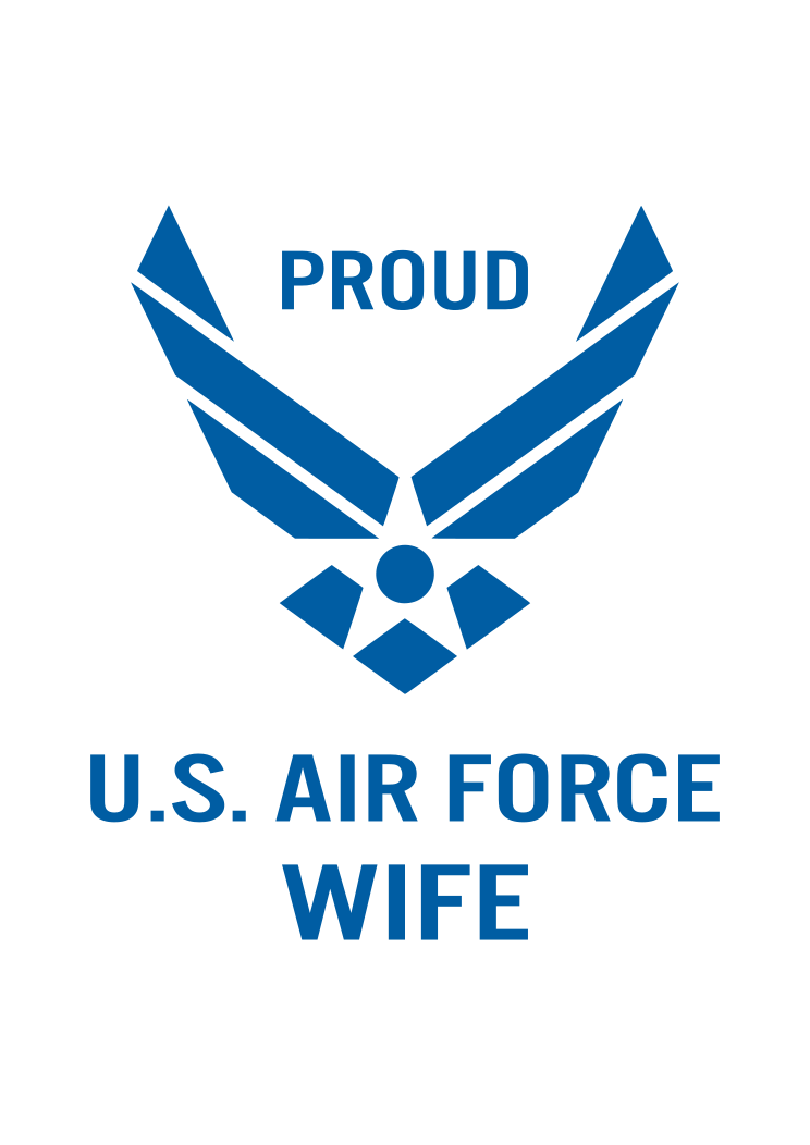 Proud U S Air Force Wife Free Svg File Air Force Mom Airforce Wife Free Svg