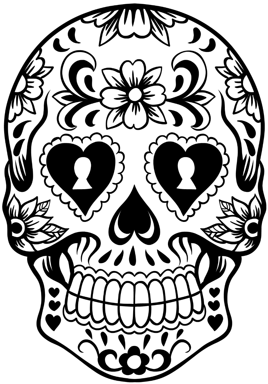 sugar skull template elita aisushi co