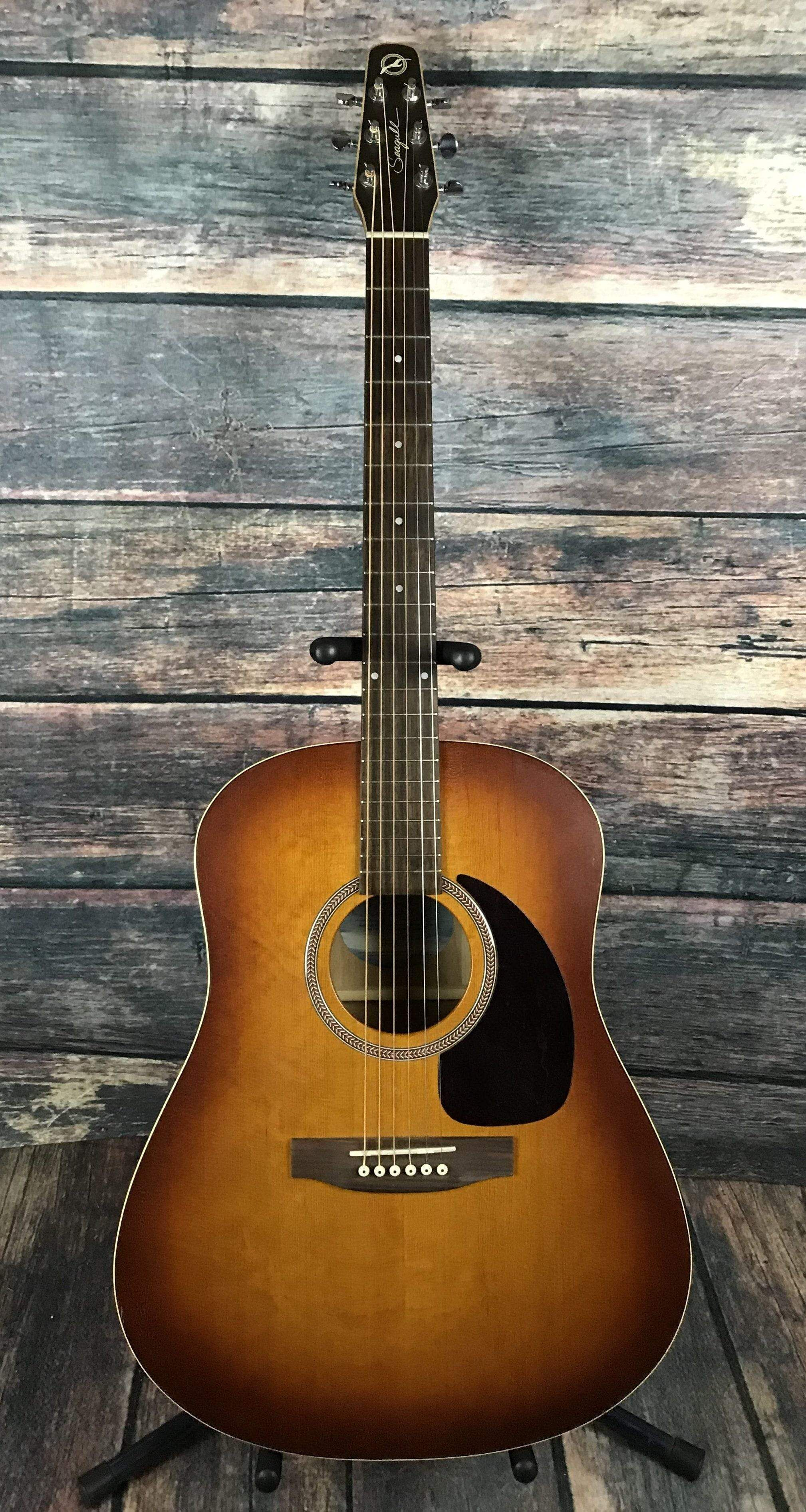 Used Seagull Entourage Rustic Acoustic Guitar With Hard Shell Case Seagull Guitars Guitar Taylor Guitars Acoustic