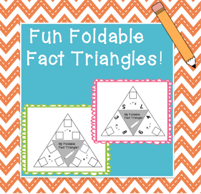 Fact Triangles   Fact families, Equation and Students