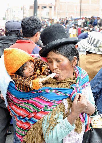Bolivia. El Alto. Ternura